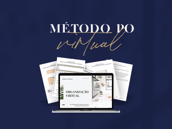 Capa do Curso Método P.O. Virtual - Organização Online