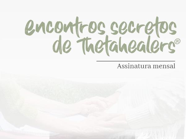 Capa do Curso ENCONTRO SECRETO DE THETAHEALERS