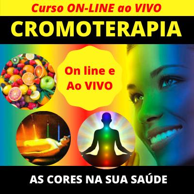 Curso de Cromoterapia On Line Ao Vivo