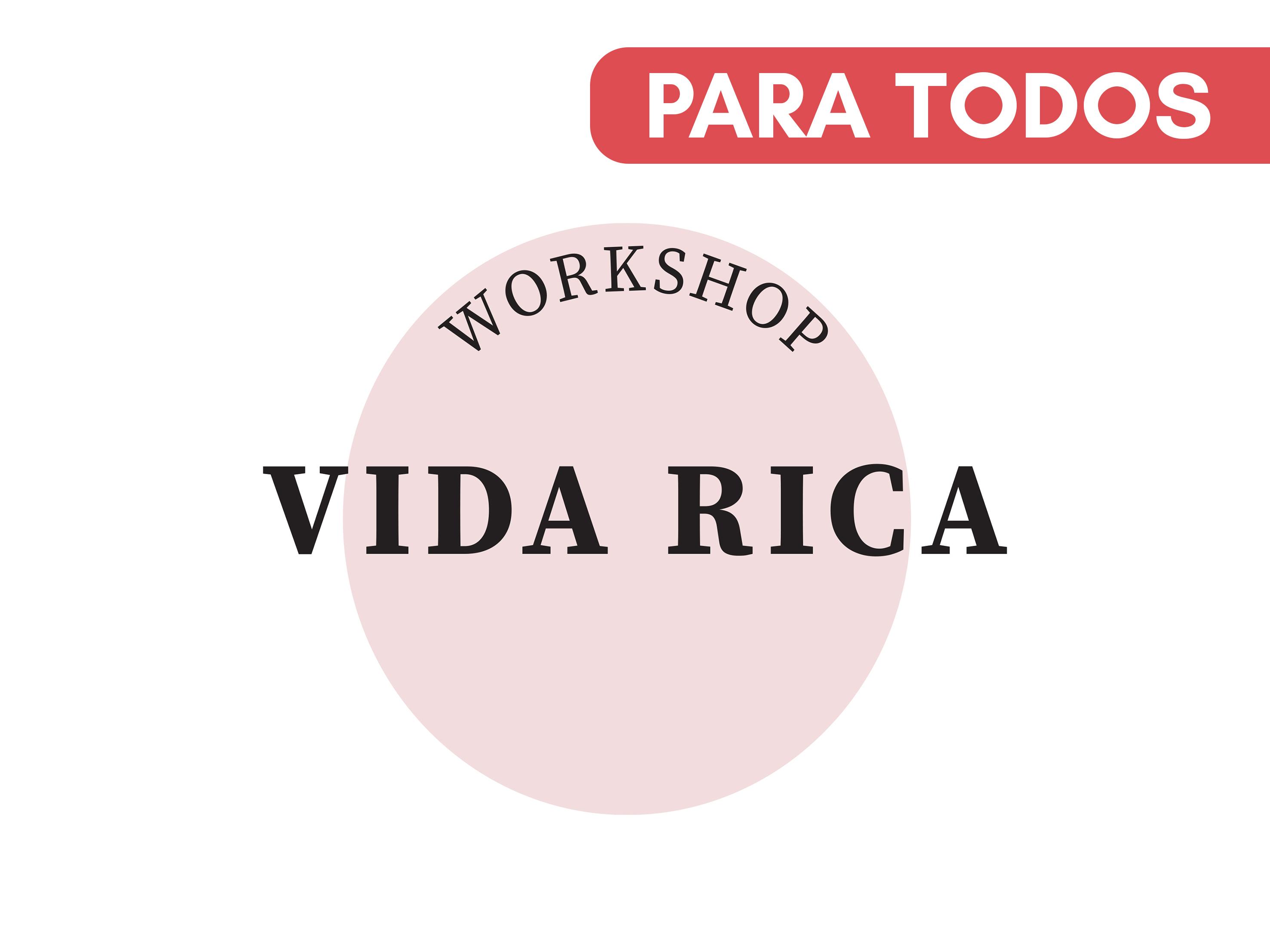 Capa do Curso Workshop Vida Rica