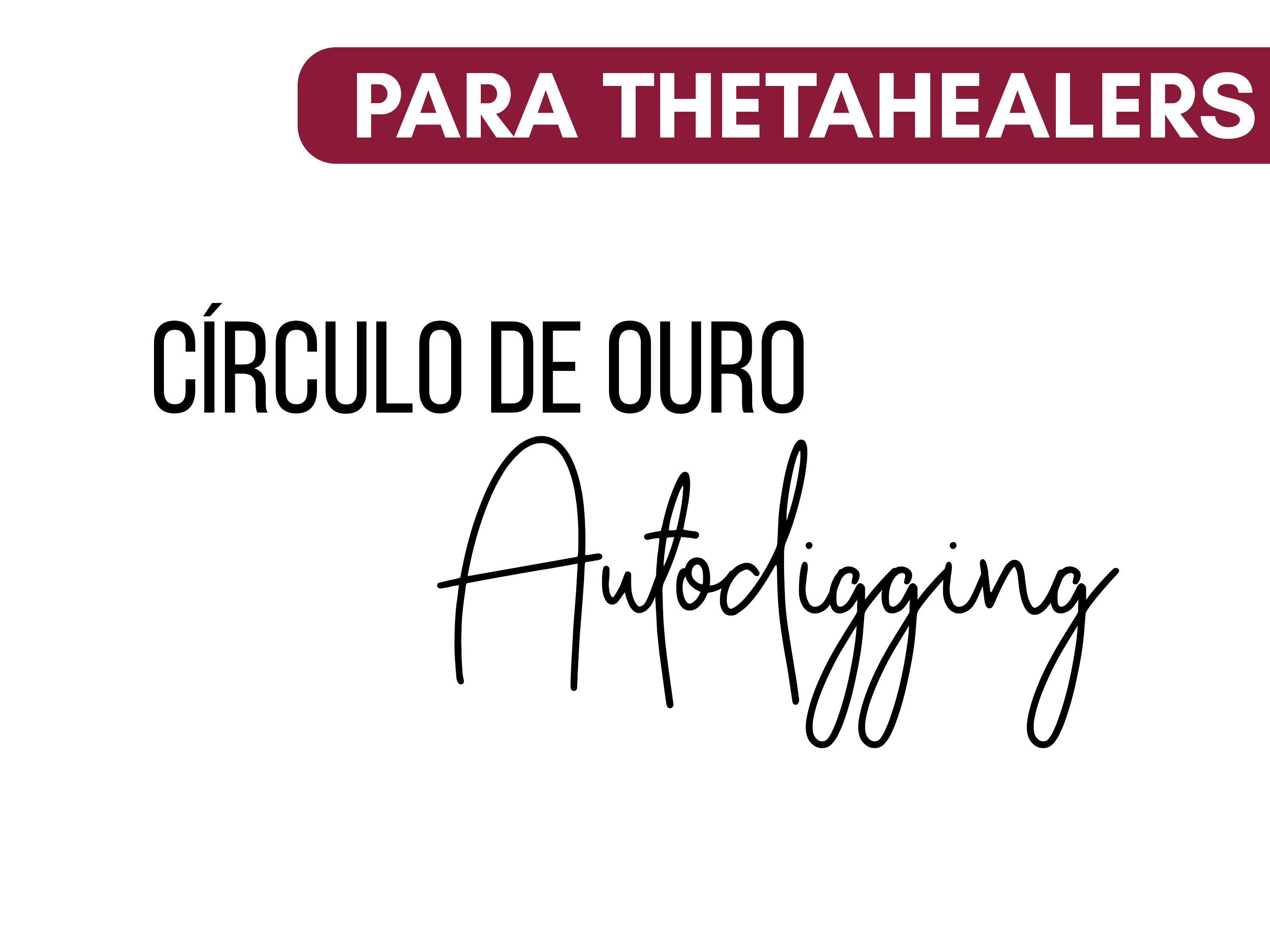 Capa do Curso Círculo de ouro sobre Autodigging
